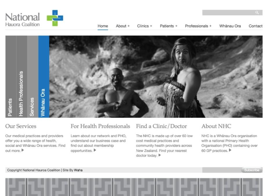 NHC Page