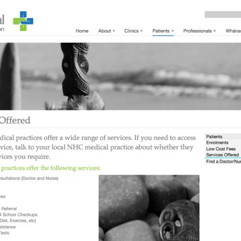 NHC_Patients Page